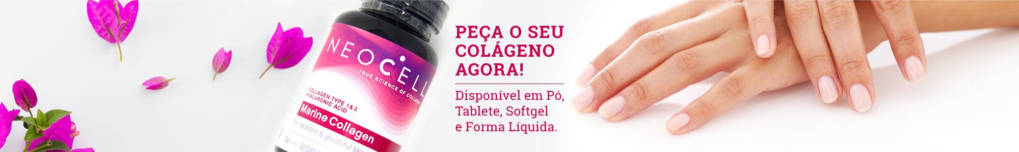 PEÇA O SEU COLÁGENO AGORA! Disponível em Pó, Tablete, Softgel e Forma Líquida.