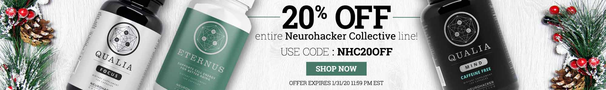 NeuroHacker Collective - Save 20% off entire line use coupon code NHC20OFF